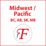 Fabricland Midwest & Pacific - BC, AB, SK, & MB